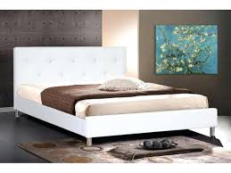 twin bed frame with headboard and footboard storage faux leather