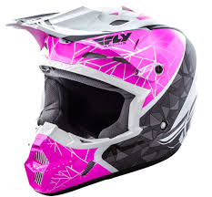 pink motocross helmets kinetic crux pink black white helmet fly racing motocross mtb