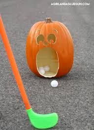 pumpkin golf halloween game eighteen25