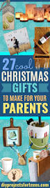 Diy Crafts For Christmas Gifts - cool christmas gifts to make for your parents diy projects for teens