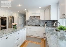 white kitchen cabinets with granite foxborough white kitchen with unique island norfolk