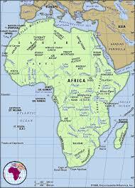 africa map physical physical regions of africa britannica homework help