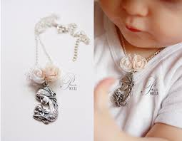 baby jewelry for baptism and muchael