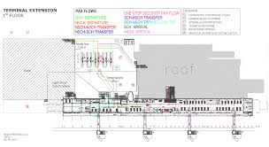 ex yu aviation news ljubljana airport to get new terminal by 2020 floor plan of the terminal first level