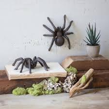 cast iron tarantula doorstop the green head