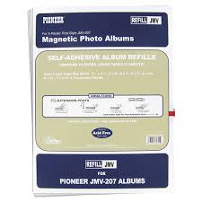 magnetic photo albums pioneer photo albums magnetic refill page for jmv207 magnetic