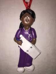 nursing ornament cna lpn rn pa black nursing ornament nursing