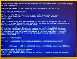 Blue Mood Meaning by What Is Page Fault In Nonpaged Area Turbofuture