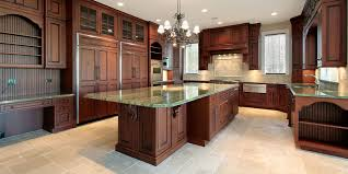 granite countertop cognac kitchen cabinets stainless mosaic