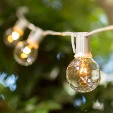 mini globe string lights 17 5 foot white wire white