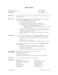 Resume Sample Program Manager by Entry Level Project Manager Resume Sample Free Resume Example