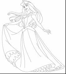 incredible sleeping beauty fairy coloring pages with aurora