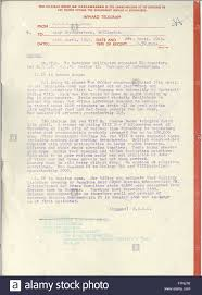 War Cabinet Ww2 World War Two Telegram From The New Zealand Military