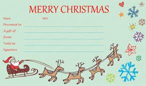 printable christmas gift cards u2013 halloween wizard