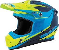 blue motocross helmet 109 95 msr youth sc1 phoenix motocross mx helmet 997971