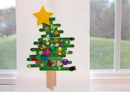popsicle stick tree