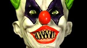 scary clown halloween mask creepy giggles killer clown latex halloween mask youtube