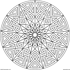100 pattern to color free printable mandalas for kids best