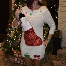 wine and alcohol ugly christmas sweaters and by yoursassygrandma