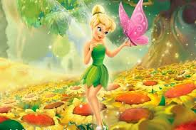 tinkerbell on desktop background