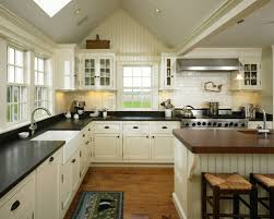 all time favorite farmhouse kitchen with glass front cabinets