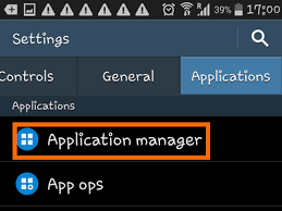 application manager android how to uninstall android apps