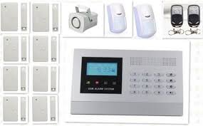 Curtain Motion Detector Home Alarm System Dzx App Sms Call Gsm Alarm System