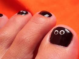 25 best halloween toe nail art designs