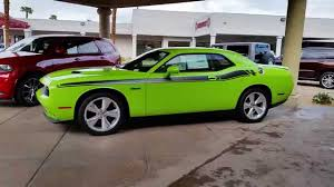 Dodge Challenger Lime Green - 2015 sublime dodge challenger r t classic youtube