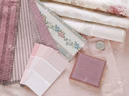 rosy pink interior design plan handcrafted ceramic tile with