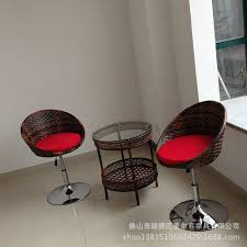 chair lift bar chair leisure balcony chairs wicker chair rattan
