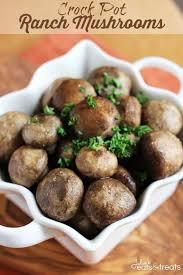 crock pot ranch mushrooms julie u0027s eats u0026 treats