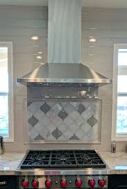 moroccan tile kitchen backsplash stunning arabesque kitchen backsplash created with clover