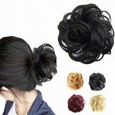 ribbon ponytail prettyshop scrunchie bun up do hair hair ribbon