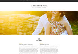free wedding website 25 wonderful wedding websites webdesigner depot