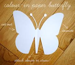 Butterfly Crafts For Kids To Make - quick kids craft paper butterfly with template paper