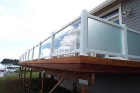 cedar and glass deck railing u2014 jbeedesigns outdoor stylish glass