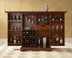 Bar Furniture Ikea by Crosley Alexandria Expandable Bar Cabinet By Oj Commerce