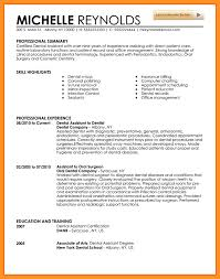 Orthodontic Resume How To Write A Dental Assistant Resume Dental Assistant Duties
