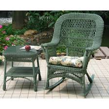 Castlecreek Patio Furniture by Chicago Wicker 4 Pc Mackinac Wicker Patio Furniture Collection