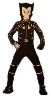 x men the movie wolverine black jumpsuit child costume by disguise