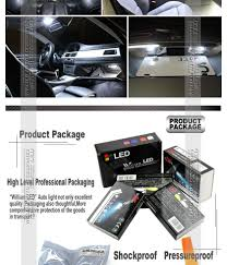 lexus ct200h license plate bulb 12 bulbs xenon white led interior light kit package for lexus