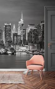 New York Wallpaper U0026 Wall Murals Wallsauce by New York City At Night Skyline Wallpaper Mural Photo Giant Wall