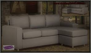 Reversible Sectional Sofa 9320 Grey Color Linen Fabric Reversible Sectional Sofa U2013 Mysleep