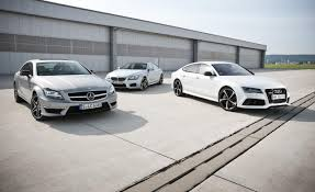comparison test bmw m6 gran coupe vs audi rs7 vs mercedes