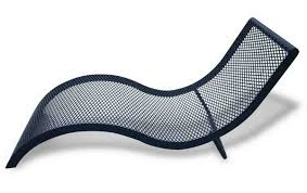 Mesh Wrought Iron Patio Furniture by Wrought Iron Chaise Lounge U2014 Prefab Homes