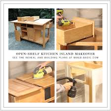 kitchen island makeover u2039 build basic