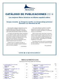 progensa editorial catalogo libros publicaciones pdf