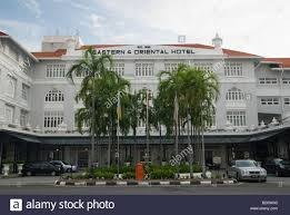 eastern and oriental hotel penang malaysia stock photo royalty