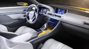 lexus yellow triangle light all lexus the lexus lf c2 concept rc convertible will offer all